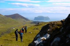 seven peaks hike - vestmannaeyjar
